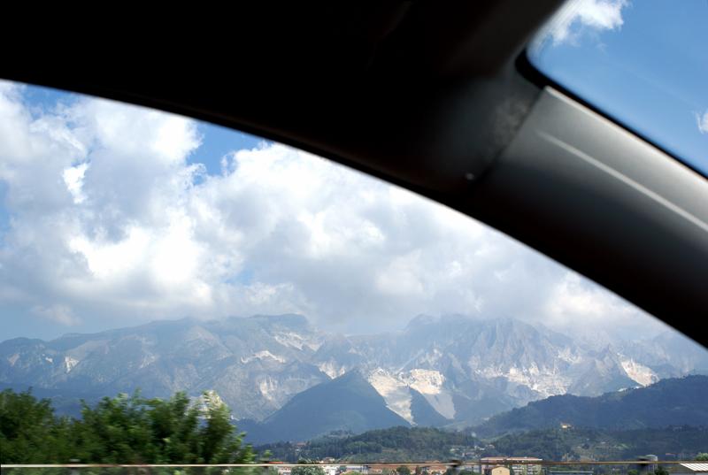 Massa Carrara, cave 2007