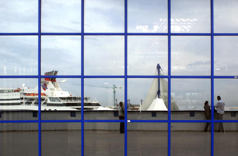 Porto di Bari, terminal passeggeri