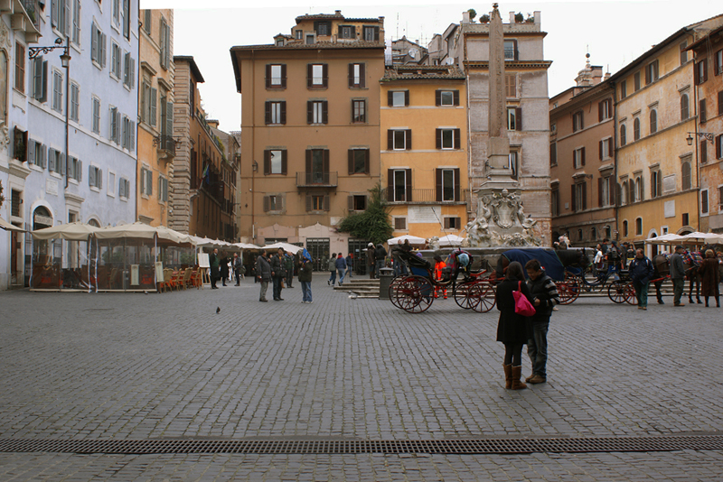 Roma, Piazza del Pantheon 2010
