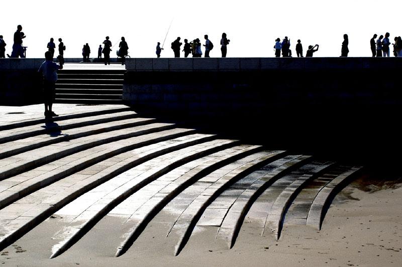 Lisbona, controluce a Belém