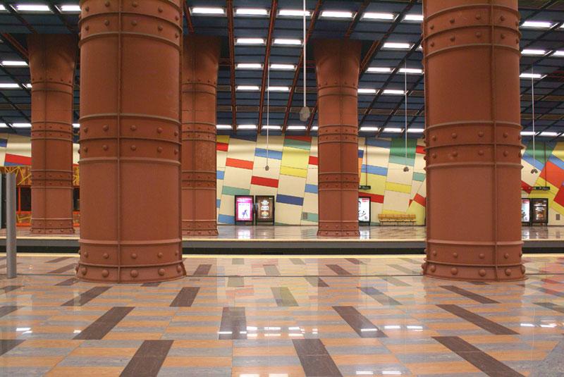 Lisbona, Metro, Stazione Olaias