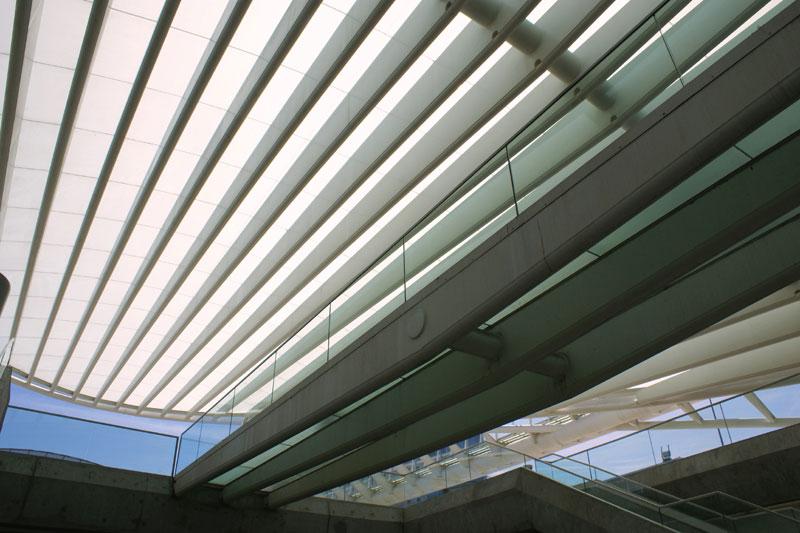 Lisbona, Stazione Oriente di Calatrava