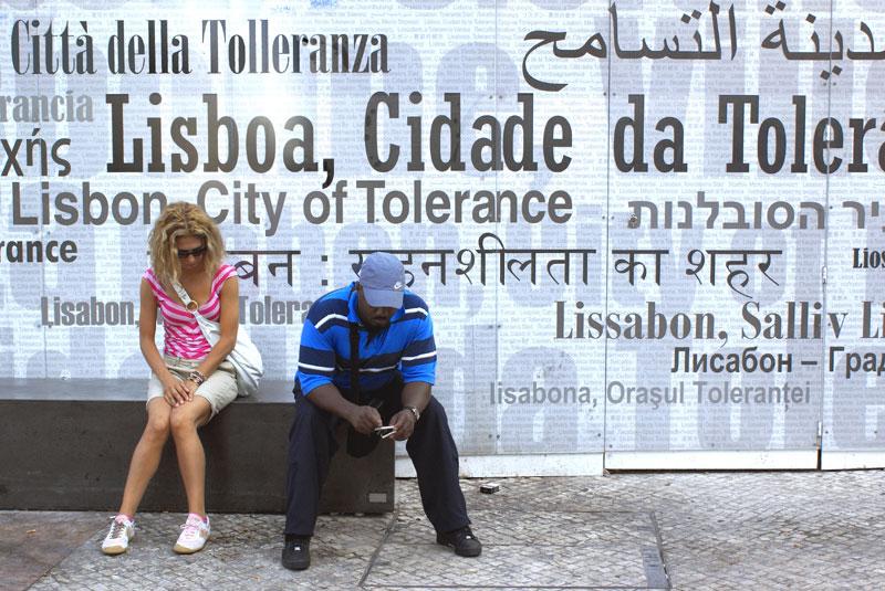 Lisbona 08, Città della tolleranza