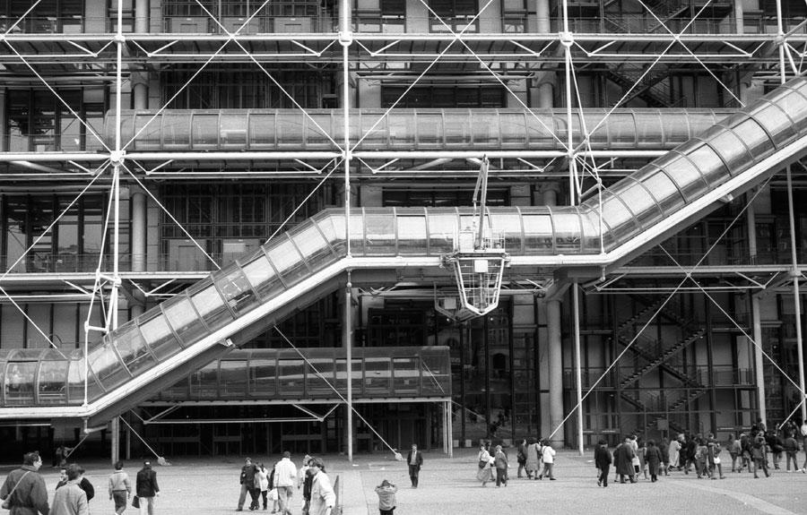 Parigi '90 il Beaubourg