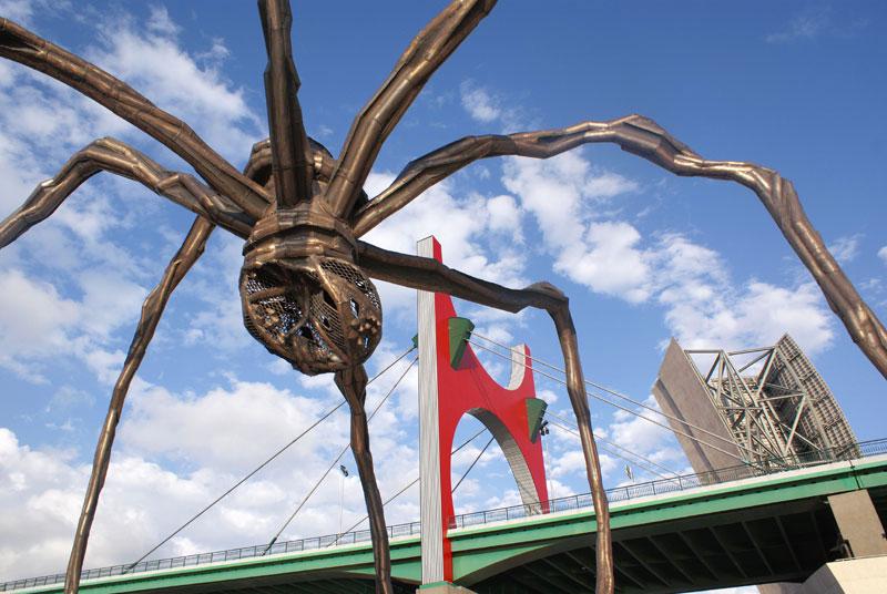 Bilbao '08, Maman, scultura di Louise Bourgeois