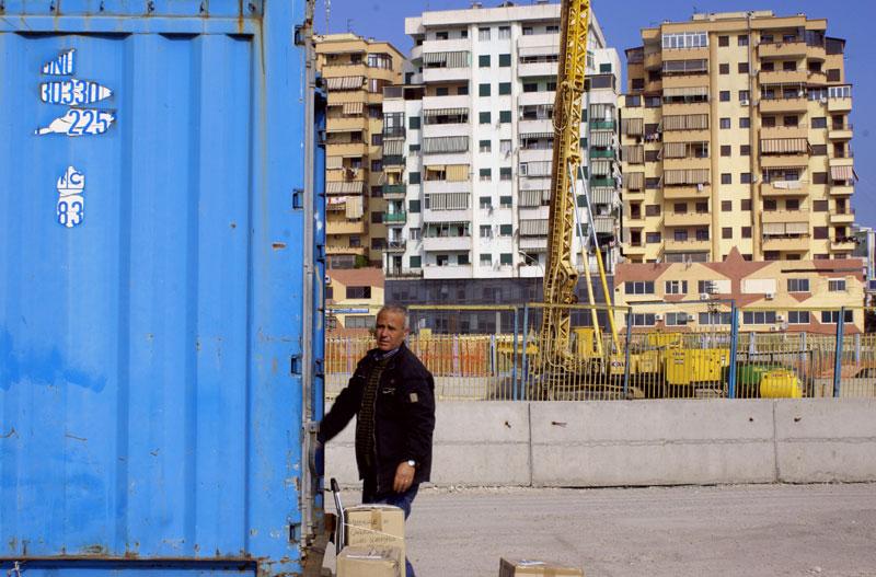 Albania, porto di Durazzo