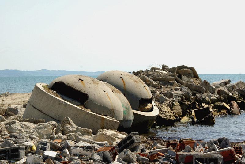 Albania, Durazzo, bunker