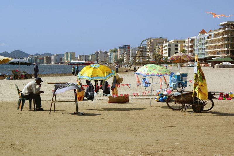 Albania, spiaggia di Durazzo