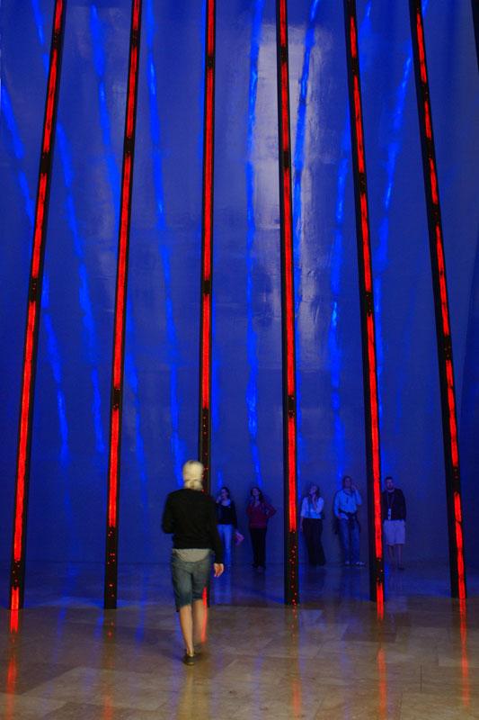Bilbao '08, Guggenheim, installazione di Jenny Holtzer