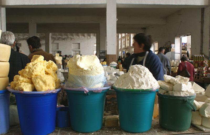 Albania, mercato di Korce