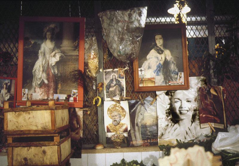 Bari, mercato di Natale 1977