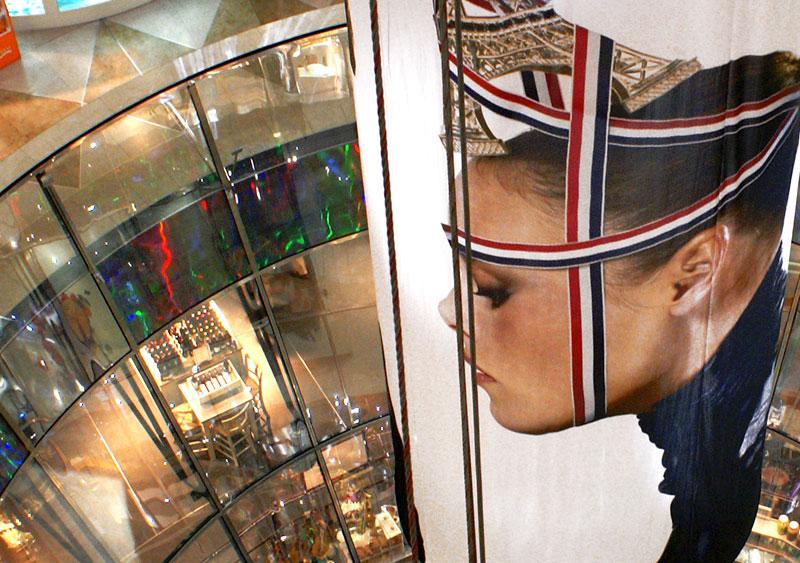 Berlino '08, Galeries Lafayette