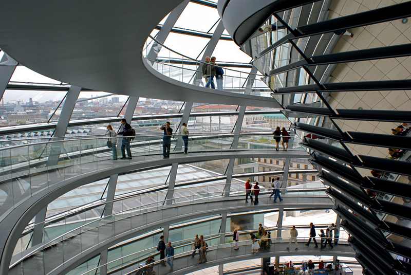 Berlino, Reichstag 2008
