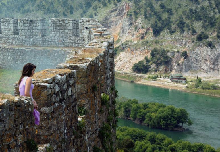 Albania, il castello di Scutari