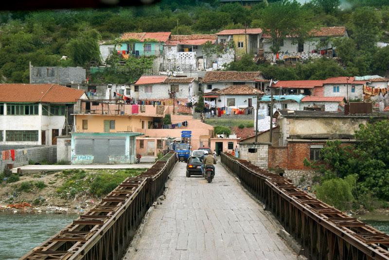 Albania, Scutari, case di Rom