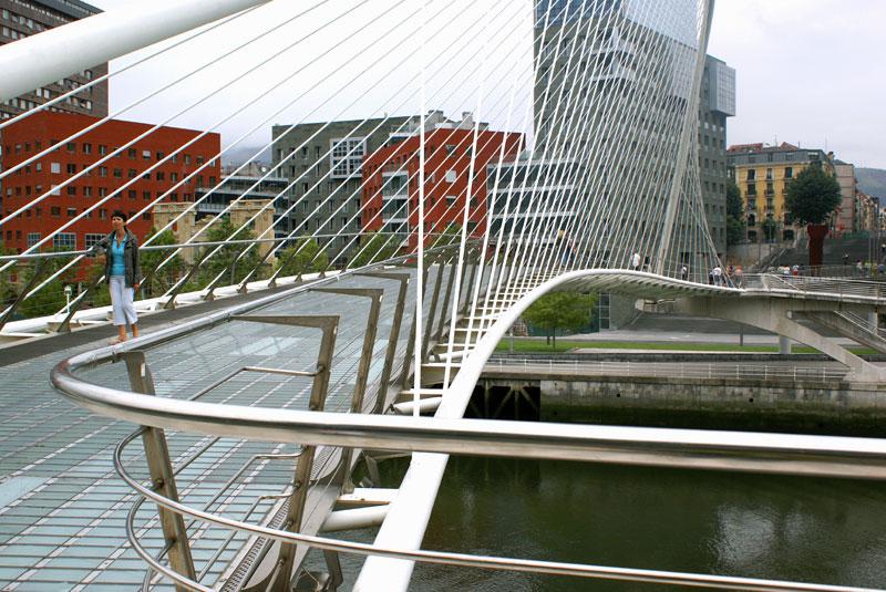 Bilbao '08, ponte di Campo Volantin