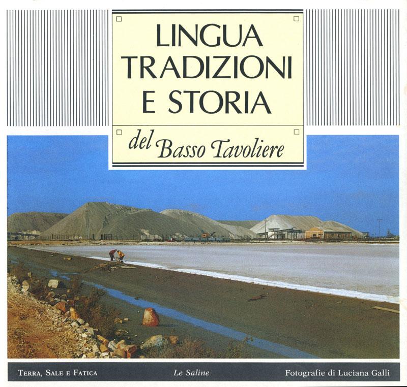 "Mostra ""Le Saline"", copertina del catalogo"