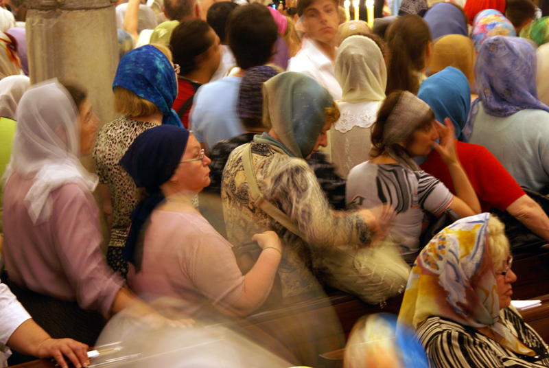 Bari, pellegrini Russi a San Nicola