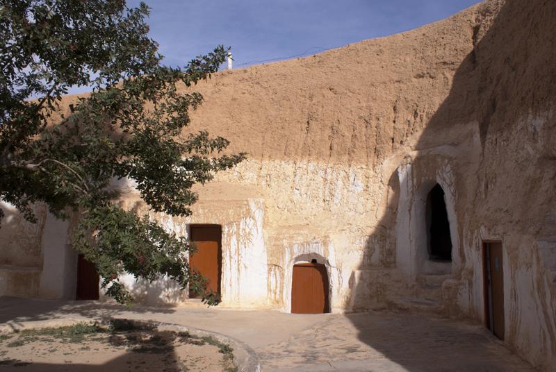 Matmata, Tunisia, villaggio berbero