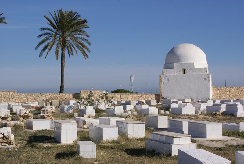 Monastir, il cimitero