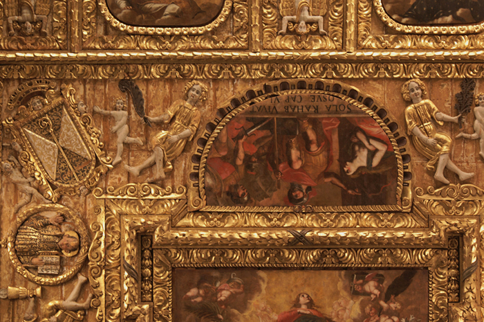 Basilica di San Nicola, soffitto