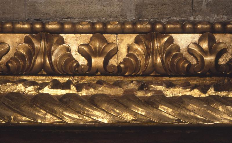 Basilica di San Nicola, particolare del soffitto