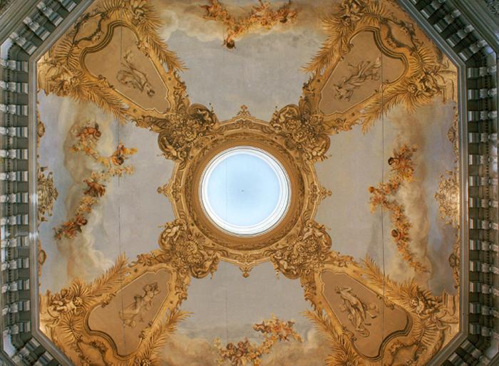 Teatro Margherita, volta