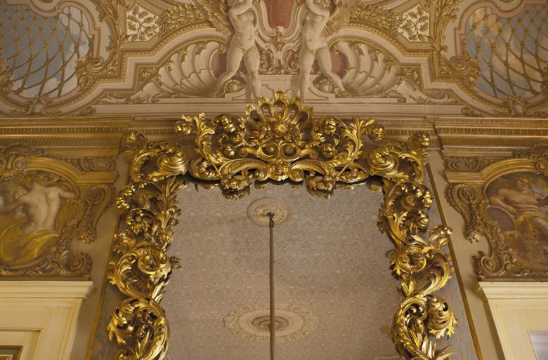 Prefettura, sala degli specchi
