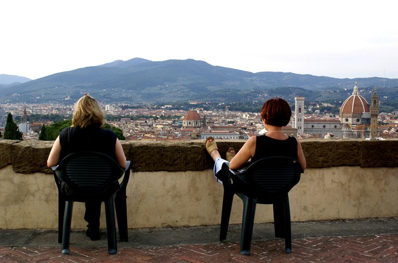 Firenze, vista dal Forte Belvedere