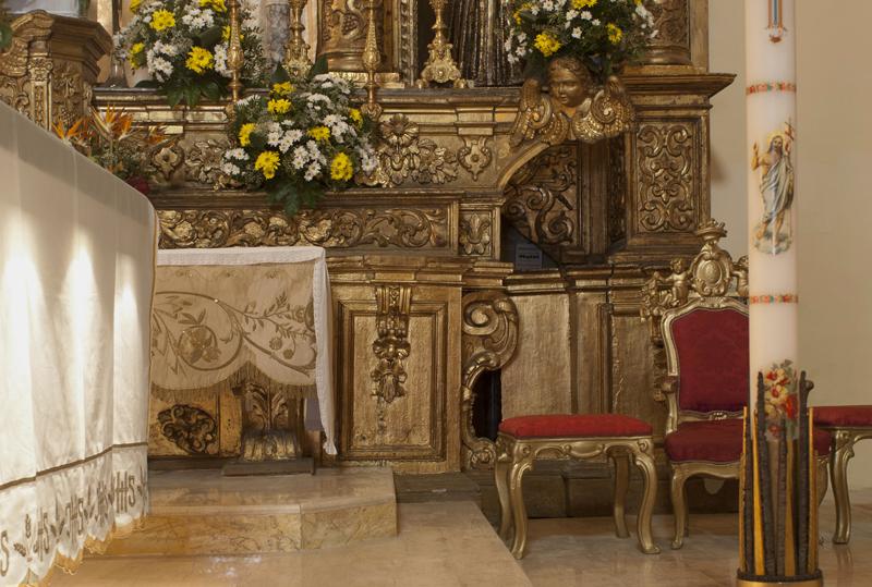 Chiesa di Sant'Anna, particolare dell'altare