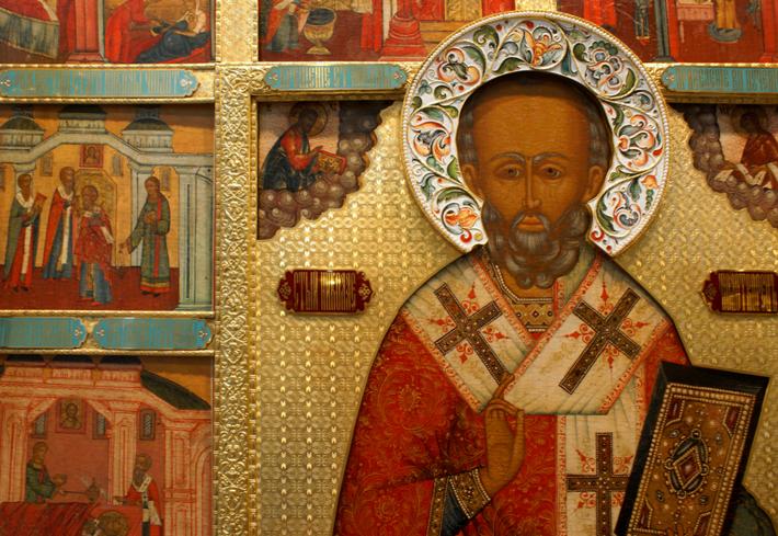 Tesoro di San Nicola, icona