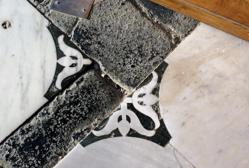 Firenze, chiesa di San Miniato, pavimento