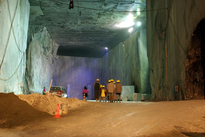 Carrara, cava di Fantiscritti