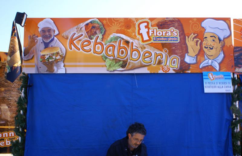 """Bari, """"Kebabberia"""" 2011"""