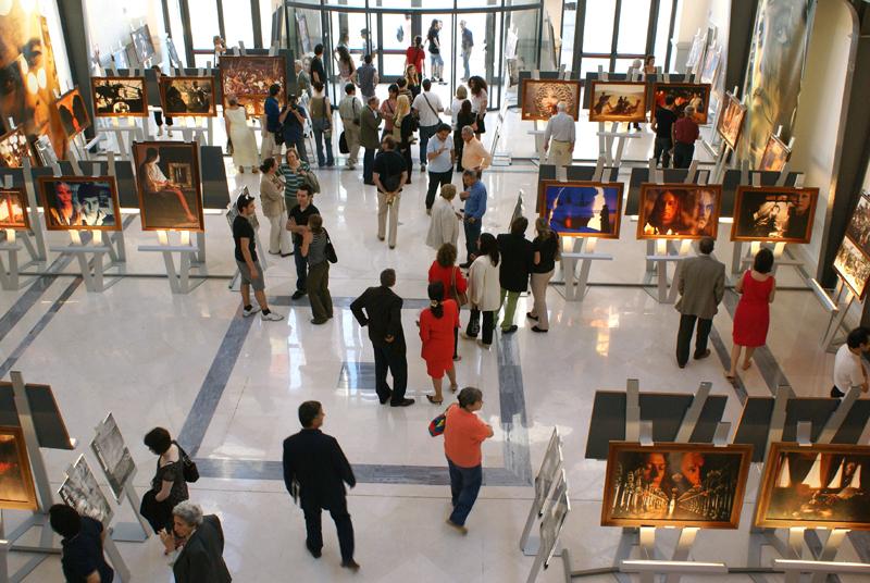 Bari, Cittadella della Cultura, mostra di Storaro