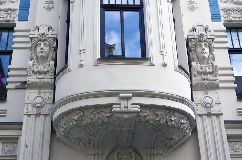 Jugendstil a Riga, Lettonia