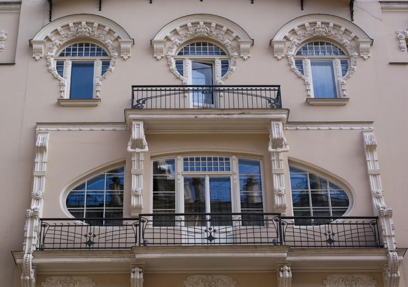 Cassa dell'Architetto Mikhail Ejzenstejn a Riga, Lettonia