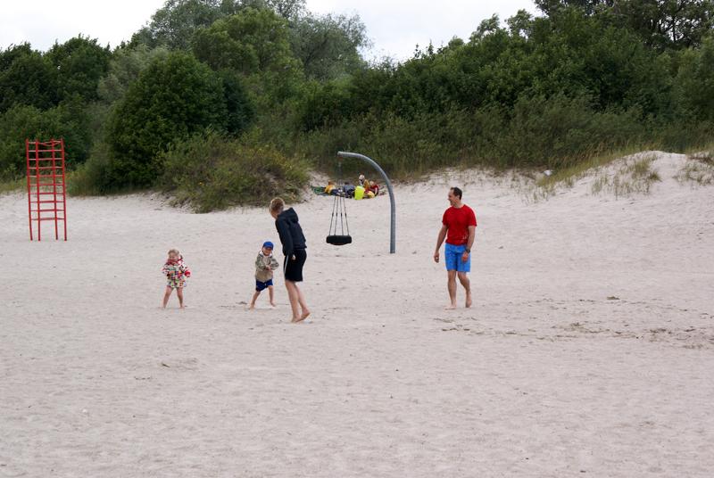 Spiaggia sul Baltico