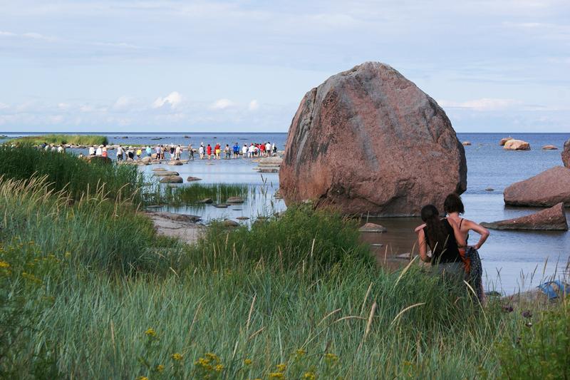 Estonia, Parco Nazionale di Lahemaa, massi erratici