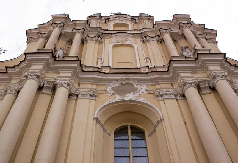 Vilnius, Lituania, chiesa di San Giovanni