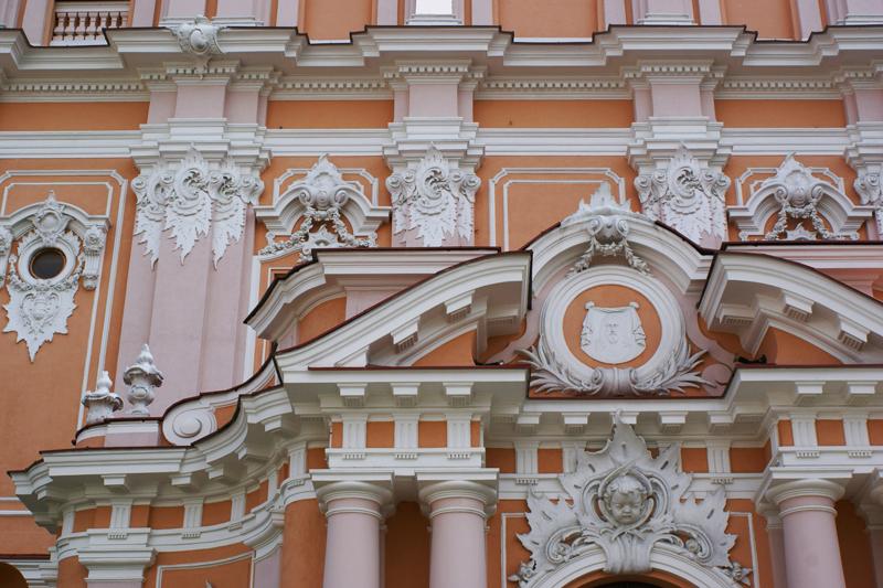 Vilnius, Lituania, chiesa di San Casimiro