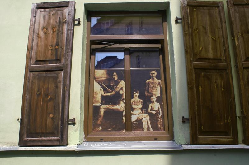 Vilnius, Lituania, laboratorio di tatuaggi