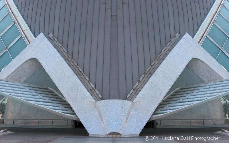 Hemisferic di Santiago Calatrava