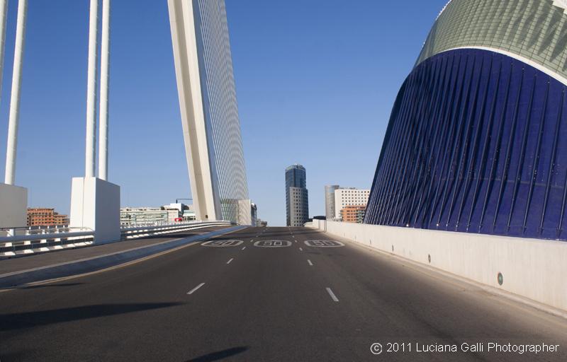 Città delle Arti e della Scienza, ponte