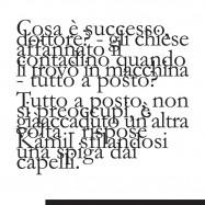 """""""All'ultimo rigo"""", copertina di Geppi De Liso"""