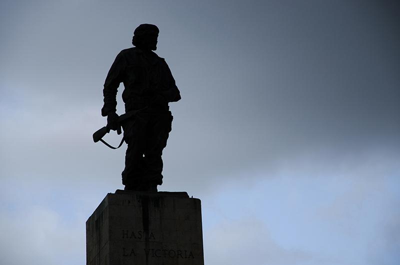 0743 Santa Clara, silhouette del Che