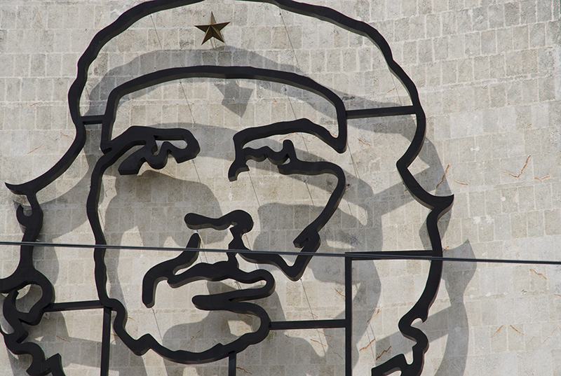 L'Avana, immagine del Che