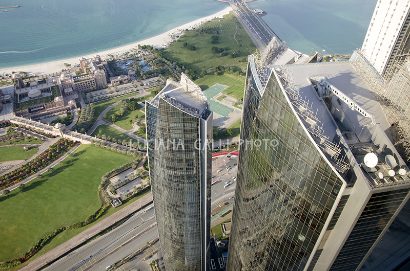 Abu Dhabi, vista dalle Etihad Towers