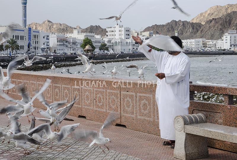 Muscat, la Corniche a Mutrah