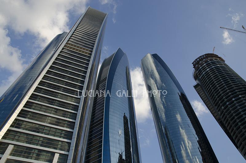 Abu Dhabi, le Etihad Towers